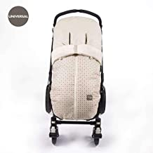 Walking Mum - Saco universal de invierno circus para silla de paseo beige