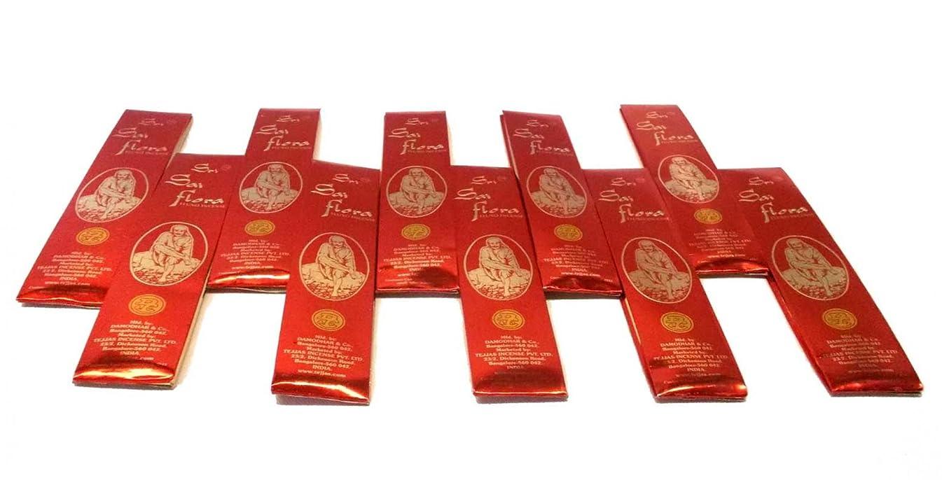 ピット革新義務SAI Flora Incense Agarbati ~ 40ボックス( 25グラム)バルクパック~購入でバルクと保存