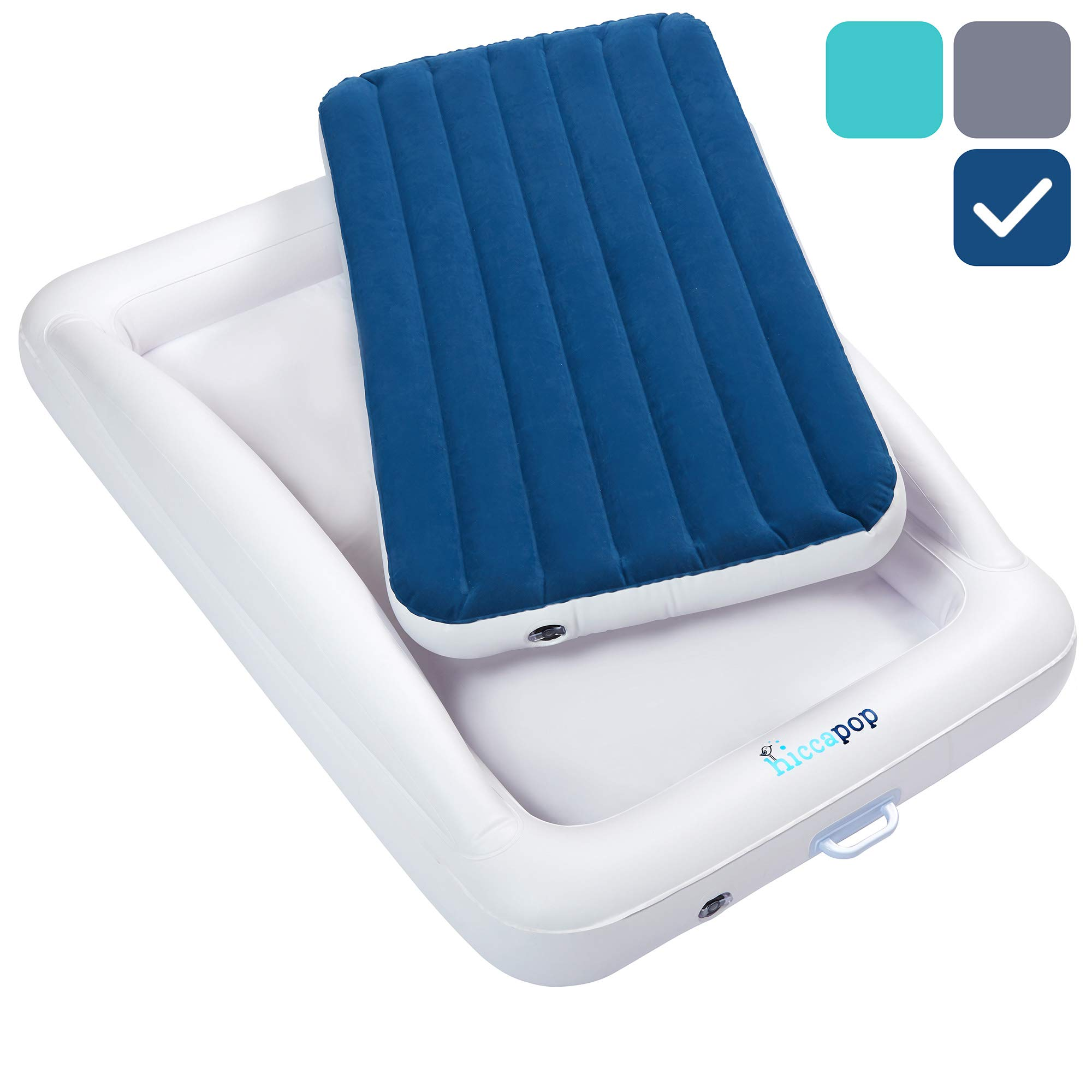 hiccapop Inflatable Toddler Portable Mattress