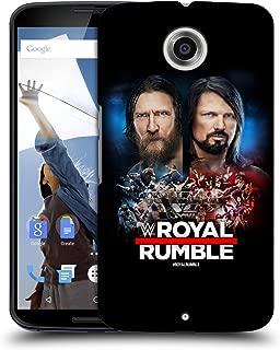 Official WWE Daniel Bryan and AJ Styles 2019 Royal Rumble Hard Back Case Compatible for Motorola Nexus 6 / Nexus X