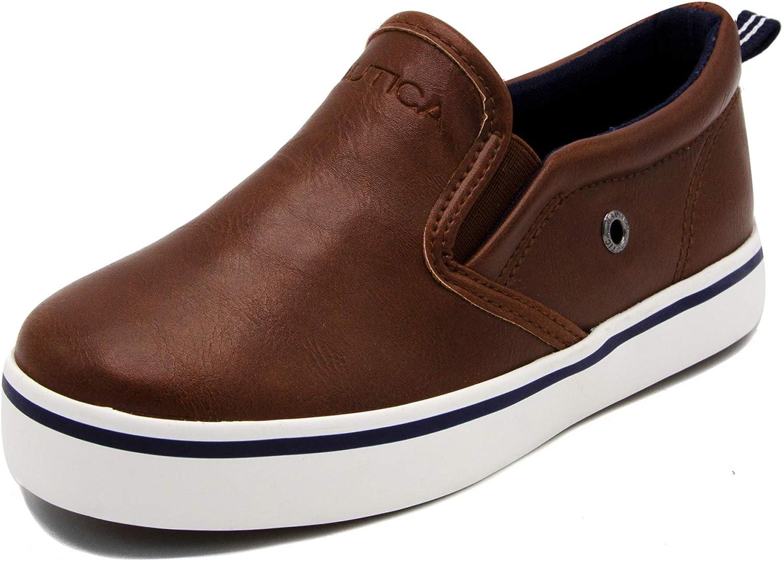 Youth-Toddler Akeley Big Kid//Little Kid//Toddler Nautica Kids Slip-On Casual Shoe Athletic Sneaker