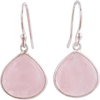 Best rose quartz earrings india Reviews