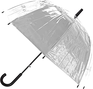 X-Brella Metallic Stick Umbrella (UK Size: One Size) (Silver)