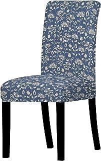 غطاء كرسي منزلي مرن غطاء كرسي طعام منزلي متعدد الوظائف قماش مرن مرن قابل للتمدد قطعة واحدة (اللون : 8)