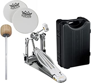 TAMA HP910LN Speed Cobra 910 Single Bass Drum Pedal w/ Impact Patches and Extra Wood Beater