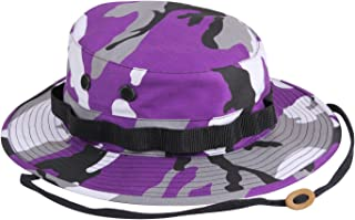 Rothco Camouflage Military Style Boonie Hat, Ultra Violet Camo