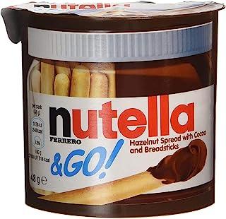 Nutella & Go Hazelnut Spread & Pretzels Sticks, 48 g