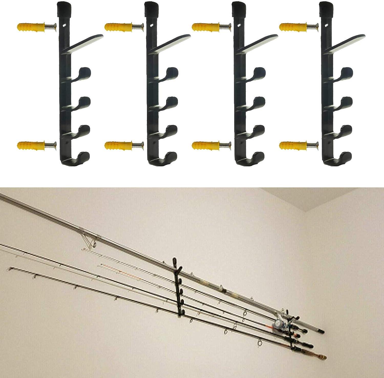 low-pricing Pmsanzay Bargain Perfect Fishing Rod Rack 10 – R Horizontal