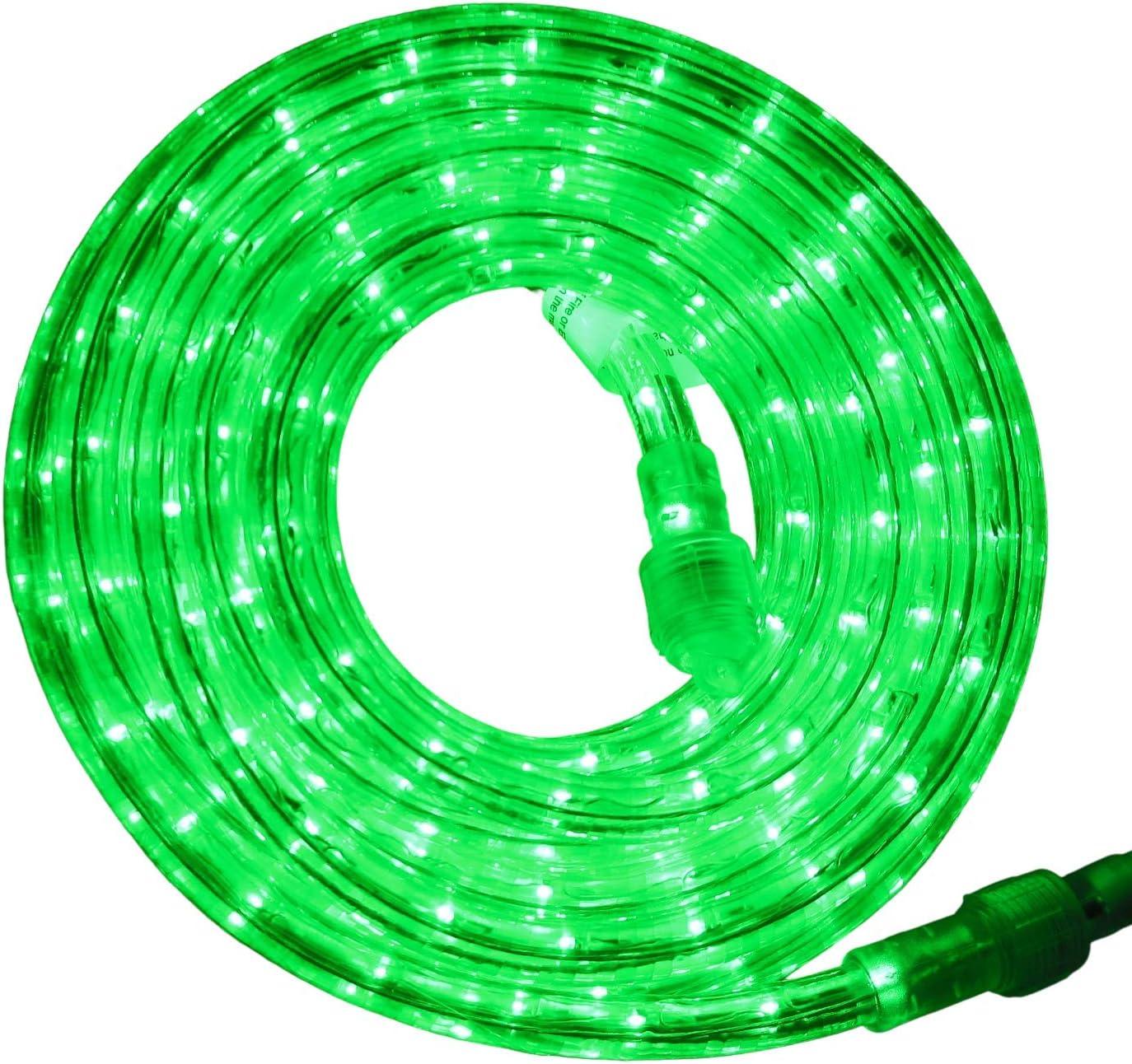 "Flexilight LED Rope Light Max 51% OFF 110V - 120V 2"" 1 2-Wire Arlington Mall Diameter"