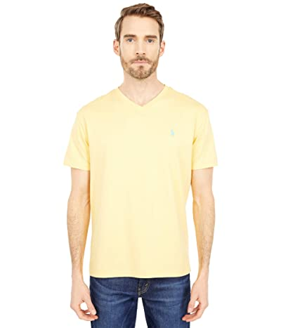 Polo Ralph Lauren Classic Fit V-Neck Tee (Empire Yellow) Men