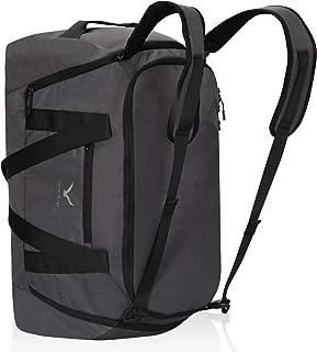 50L Duffel Backpack 4 Way Travel Backpack Sports Duffel Bag, Grey
