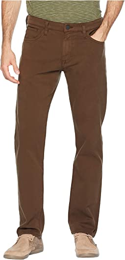 Courage Straight Fit in Brown Fine Twill
