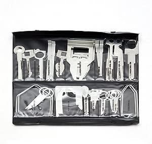 38Pcs Professional Stereo Removal Key Universal Car Radio Removal Keys Tool Set Kit