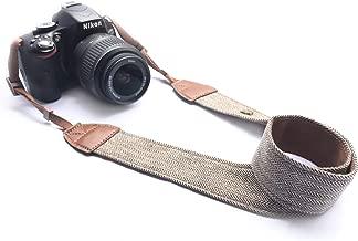 Alled XN01-0942 Neck Shoulder Belt Strap, Vintage Print Soft Colorful Camera Straps for Women/Men for All DSLR/Nikon/Canon/Sony/Olympus/Samsung/Pentax/Olympus, Brown