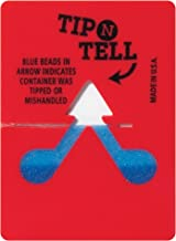 Boxes Fast Tip-N-Tell Indicator, Red, (Pack of 100)