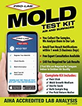 ProLab Mold Test Kit For Home For Air And Surface Testing - Mold Test Kit Includes Expert Consultation, Pre-Paid Return Ma...