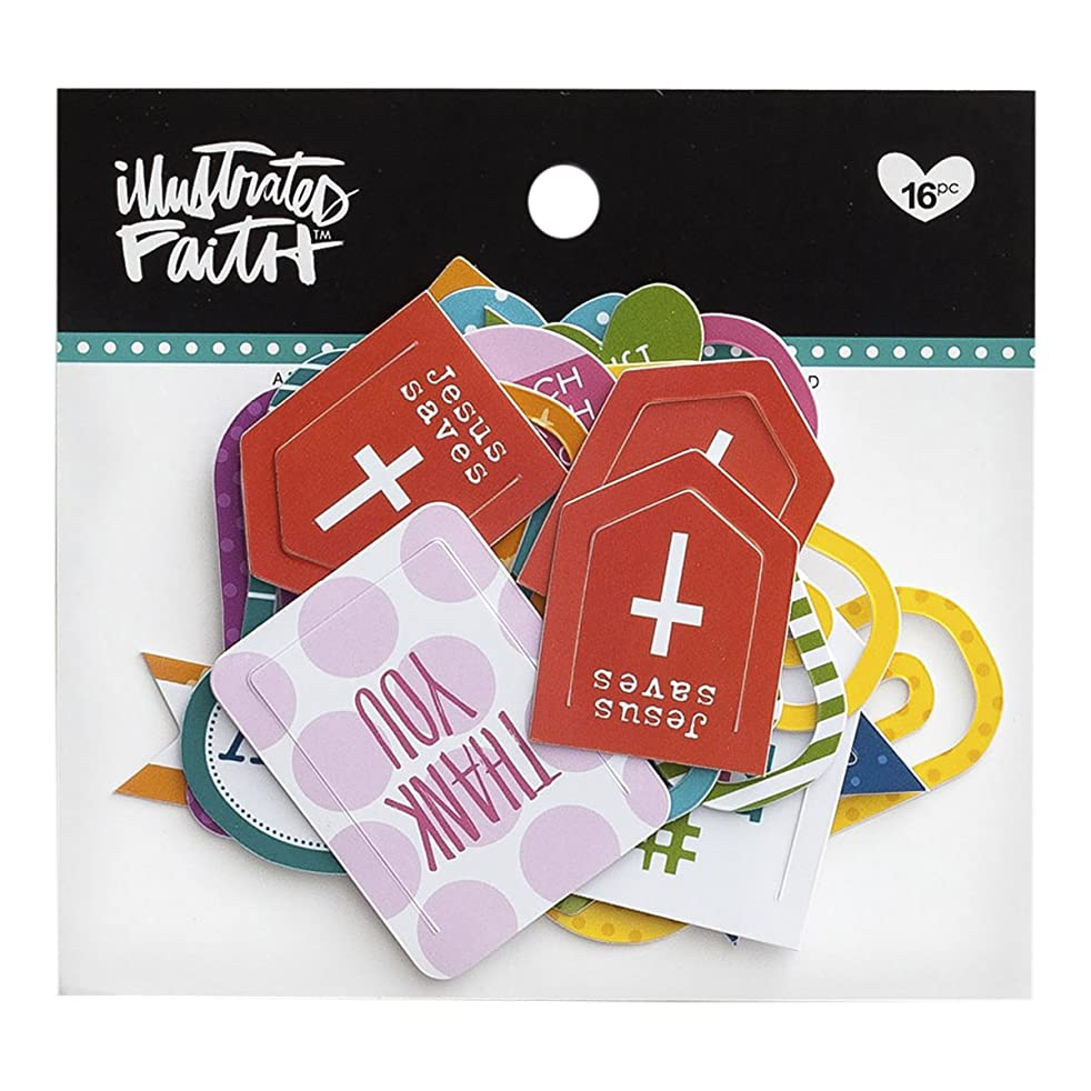 Illustrated Faith - Designer Paper Clips - Words of Affirmation