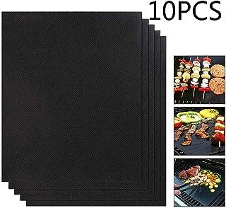 Cheer Lot de 5 tapis de cuisson anti-adhésif Teflon approuvés par la FDA, sans PFOA, réutilisables, faciles à nettoyer - I...