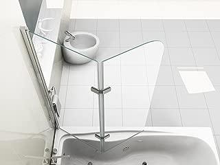 HNNHOME/® blanco Junta para mamparas de ducha para puertas plegables