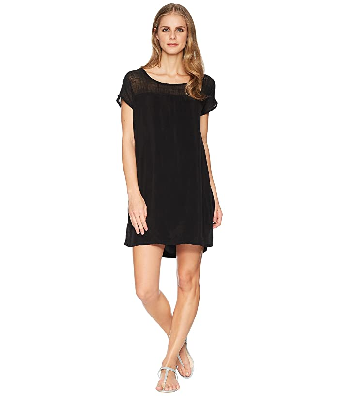 Hard Tail Shift Dress (Black) Women's Dress