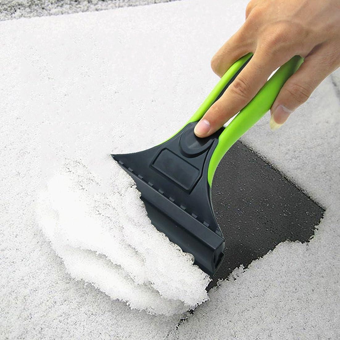 ドリンクタービンリムFEZZ 氷かき 雪かき 車 除氷 スノーブラシ 除雪 雪対策 工具 小型 カーフロントガラス雪落とし PVC グーリン ソフトハンドル 11 ネイル 自動車アクセサリー