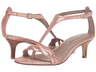 Donald J Pliner Kate (Rose Gold Tumbled Metallic) Women