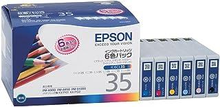エプソン 純正 インクカートリッジ 色エンピツ IC6CL35 6色パック