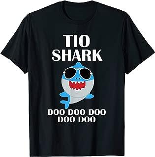 Tio Shark T-Shirt Doo Doo Doo Fathers Day Tio Shirt