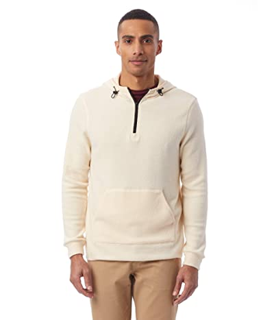 Alternative Eco-Teddy Outdoor 1/4 Zip Hoodie (Eco Canvas) Men