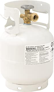 Flame King YSN5LB 5 Pound Propane Tank Cylinder, for Portable Grills Fire Pits, Heaters and Overlanding, 5 lb