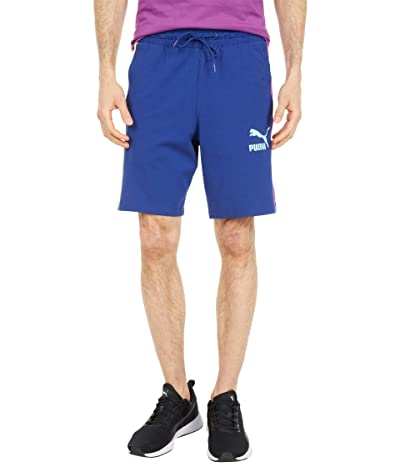 PUMA Iconic T7 8 Jersey Shorts (Elektro Blue) Men