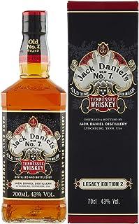 Jack Daniel's Sour Mash Tennessee Whiskey LEGACY EDITION No. 2 - BLACK DESIGN 43% Vol. 0,7l in Giftbox