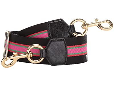 Marc Jacobs Sport Stripe Webbing Strap (Black Multi) Bags