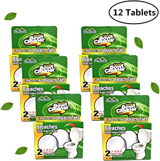 12 Count Automatic Toilet Bowl Tablets Cleaner (6 Pack)