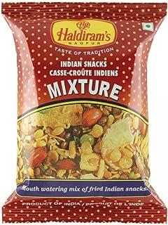 6 X Haldiram's Mixture Mouth Watering Mix of Fried Indian Snacks 150g X 6 Packs