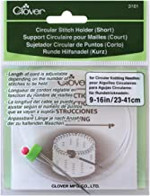 Clover Circular Stitch Holder Size Short or Long CL 3161 or CL 3162