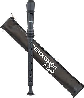 Percussion Plus PP1618 Colourful Soprano Descant Recorder - Black