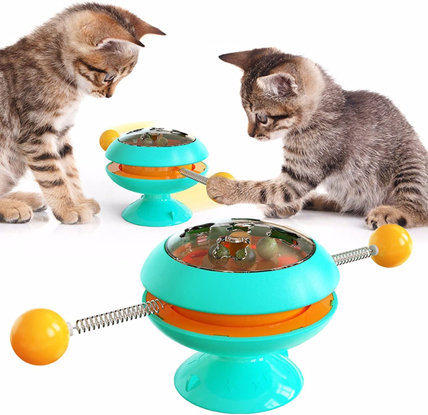 TONG Cat Toys Catnip Balls Turntable Ranking Large discharge sale TOP17 Toy Interactive