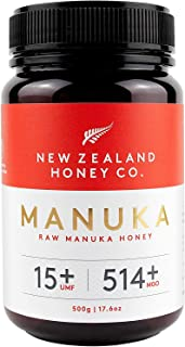 New Zealand Honey Co. Raw Manuka Honey UMF 15+ / MGO 514+ | 500g