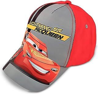 Disney Boys' Toddler Cars Lightning McQueen Character Cotton Baseball Cap