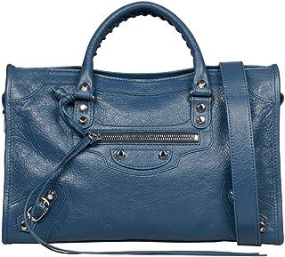 Luxury Fashion   Balenciaga Womens 431621D94JN4230 Light Blue Handbag   Season Permanent