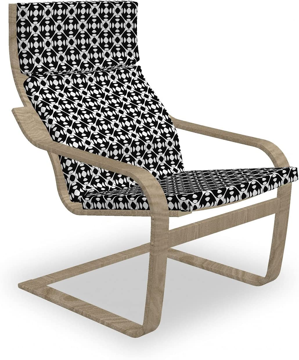 Ambesonne Minimalism Max 69% Choice OFF Armchair Pad Bohemi Abstract and Slipcover
