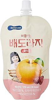 BeBecook Brewed Korean Golden Pear Drink w Bellflower Root & Jujube, 120ml