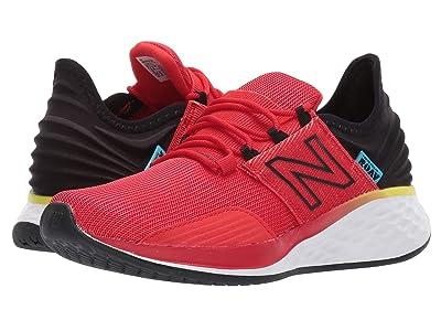New Balance Kids Fresh Foam Roav Boundaries (Big Kid) (Velocity Red/Black) Boys Shoes