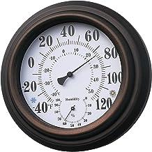 #N/a Termómetro higrómetro 20 cm interior termómetro Interior Exterior temperatura medidor de humedad termómetro indicador Monitor de temperatura