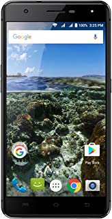 """AZUMI Kinzo A55 OLi - 5.5"""" High Definition AMOLED Display 32GB +3GB 4G LTE US GSM Unlocked Dual Sim Smartphone Black (AT&T and T-Mobile Compatible)"""