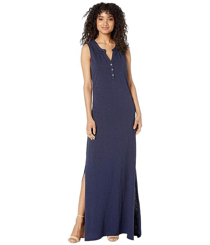 Lilly Pulitzer Essie Maxi Dress (True Navy) Women
