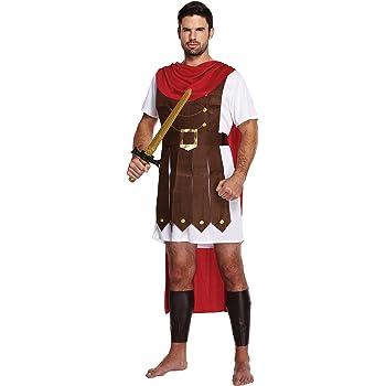 Hombre Adulto Romano General Gladiador Espartano Luchador Disfraz ...