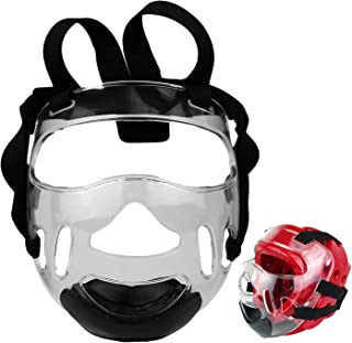 PROWIN1 Martial Arts Clear Face Shield Mask for Sparring Head Gear