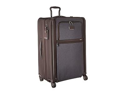 Tumi Alpha 3 Medium Trip Expandable 4 Wheeled Packing Case (Anthracite) Luggage